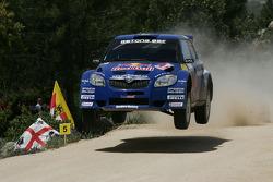 Patrik Sandell and Emil Axelsson, Skoda Fabia s2000