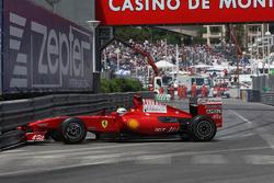 Felipe Massa, Scuderia Ferrari makes a mistake