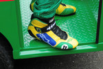 Tony Kanaan's shoes