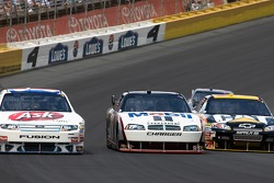 Bobby Labonte, Sam Hornish Jr., and Jeff Burton