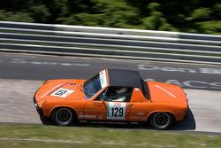 #129 Porsche 914: Markus Herzberg, Michael Kruger, Andreas Herzberg