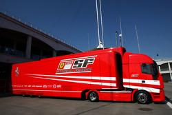 Ferrari race truck