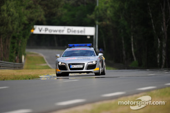 The Audi safety car