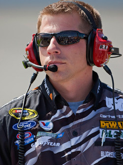 Drew Blickensderfer, crew chief for Matt Kenseth, Roush Fenway Racing Ford