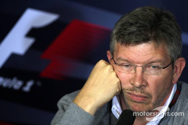 FIA press conference: Ross Brawn Brawn Grand Prix Team Principal