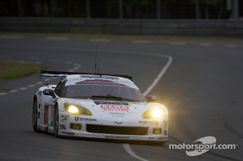 #73 Luc Alphand Aventures Corvette C6.R: Xavier Maassen, Yann Clairay, Julien Jousse