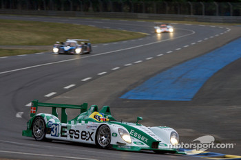 #31 Team Essex Porsche RS Spyder: Kristian Poulsen, Casper Elgaard, Emmanuel Collard