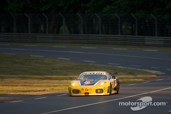 #92 JMW Motorsport Ferrari F430 GT: Rob Bell, Andrew Kirkaldy, Tim Sugden
