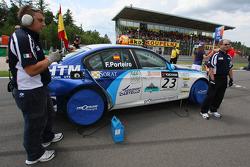 Felix Porteiro, Scuderia Proteam Motorsport, BMW 320si WTCC, Czech Republic, Brno, Rd. 11-12