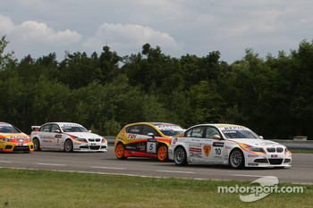 Sergio Hernandez, BMW Team Italy-Spain, BMW 320si, Tiago Monteiro, Seat Sport, Seat Leon 2.0 TDI, Jorg Muller, BMW Team Germany, BMW 320si