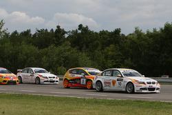 Sergio Hernandez, BMW Team Italy-Spain, BMW 320si, Tiago Monteiro, Seat Sport, Seat Leon 2.0 TDI, Jorg Muller, BMW Team Germany, BMW 320si