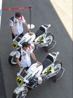 LCR Honda MotoGP Team pit area