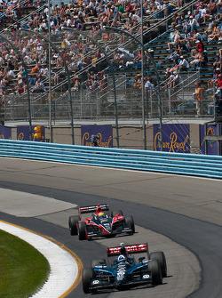 Dario Franchitti, Target Chip Ganassi Racing, Justin Wilson, Dale Coyne Racing