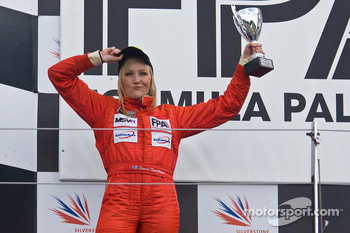 Podium: second place Emma Kimilainen