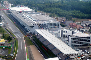 Aerial views of the Nurburgring