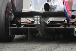 Sebastian Vettel, Red Bull Racing rear diffuser