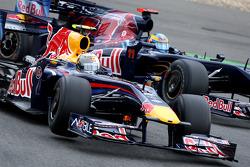 Sebastian Vettel, Red Bull Racing, Sébastien Bourdais, Scuderia Toro Rosso