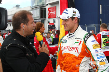 Kai Ebel and Adrian Sutil, Force India F1 Team