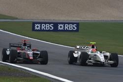Jerome D'Ambrosio and Romain Grosjean