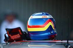Jamie Whincup's helmet