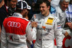 Oliver Jarvis, Audi Sport Team Phoenix and Gary Paffett, Team HWA AMG Mercedes