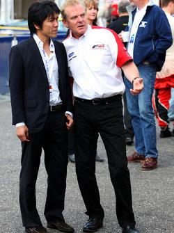 Jonathan Palmer, CEO Motorsport Vision