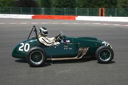 #20 Steve Russel (GB) Cooper Bristol Mk II, 1953, 2000cc