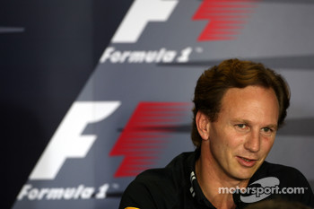 FIA press conference: Christian Horner, Red Bull Racing, Sporting Director