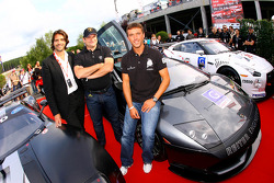 Lamborghini Murcielago RSV 2010 launch: Stéphane Ratel Chairman of SRO, Hans Reiter, Head of Reiter Engineering and Peter Kox
