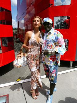 Moko and his girlfriend
