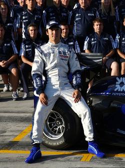 WilliamsF1 team photo, Kazuki Nakajima, Williams F1 Team