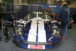 A Ford GT in the garage