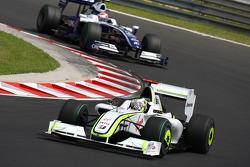 Jenson Button, Brawn GP, Kazuki Nakajima, Williams F1 Team