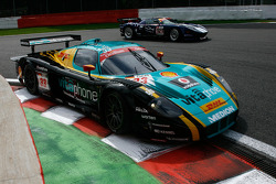 #33 Vitaphone Racing Team DHL Maserati MC 12: Alessandro Pier Guidi, Stéphane Lemeret, Carl Rosenblad, Vincent Vosse; #121 Matech GT Racing Ford GT: Thomas Mutsch, Maxime Martin, Peter Wyss, Marc Hennerici