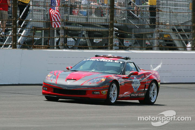 Corvette Pace car for the 2009 Allstate 400 at The Brickyard