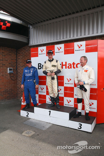 Podium: Bobby Verdon-Roe, Rowland Kinch, Peter Wuensch