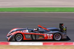 #15 Kolles Audi R10 TDI: Christijan Albers, Christian Bakkerud, Giorgio Mondini