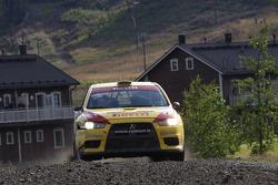 Nikos Thomas and Stéphane Prévot, Pirelli Star Driver Mitsubishi Evo X