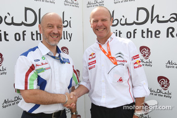 Gerard Quinn and Olivier Quesnel were both awarded the Abu Dhabi Spirit of the Rally award in Finland, after both Ford and Citroen announced they would be staying in the WRC for 2010