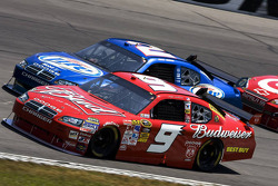Kasey Kahne, Richard Petty Motorsports Dodge, Kurt Busch, Penske Racing Dodge