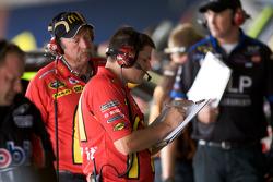 Richard Petty Motorsports Dodge crew members