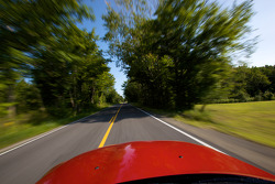 Driving to Watkins Glen in the small back roads
