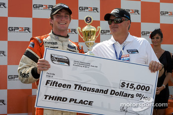 Podium: third place Jonathan Summerton, Newman Wachs Racing