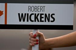 Robert Wickens grid board