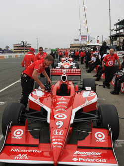 Target Chip Ganassi Racing car of Scott Dixon