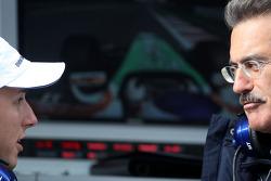 Christian Klien, Test Driver, BMW Sauber F1 Team, Dr. Mario Theissen, BMW Sauber F1 Team, BMW Motorsport Director