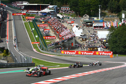 Lewis Hamilton, McLaren Mercedes and Jenson Button, BrawnGP, BGP001