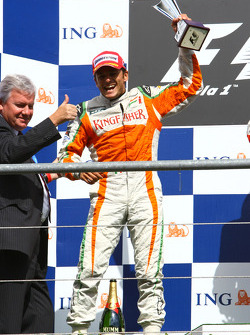 2nd, Giancarlo Fisichella, Force India F1 Team