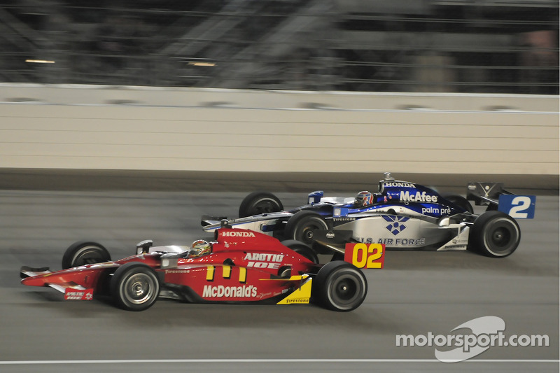 Graham Rahal, Newman/Haas/Lanigan Racing and Rapheal Matos, Luzco Dragon Racing