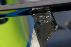 #77 Doran Racing Ford Dallara rear wing detail